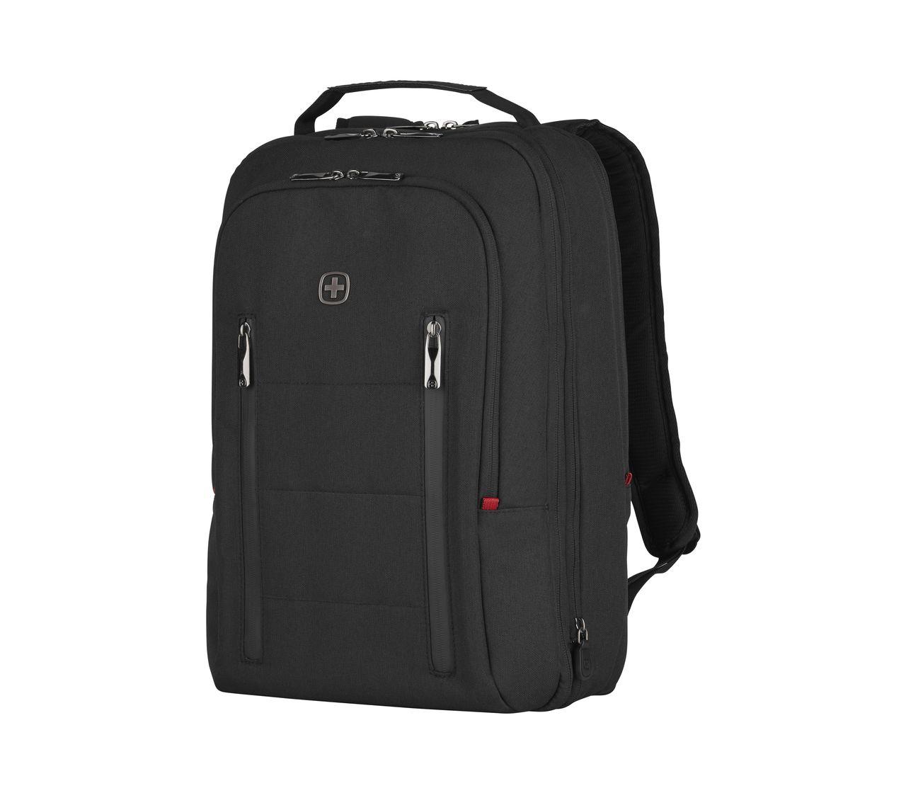 Wenger City Traveler Carry On 16 Backpack In Black 606490