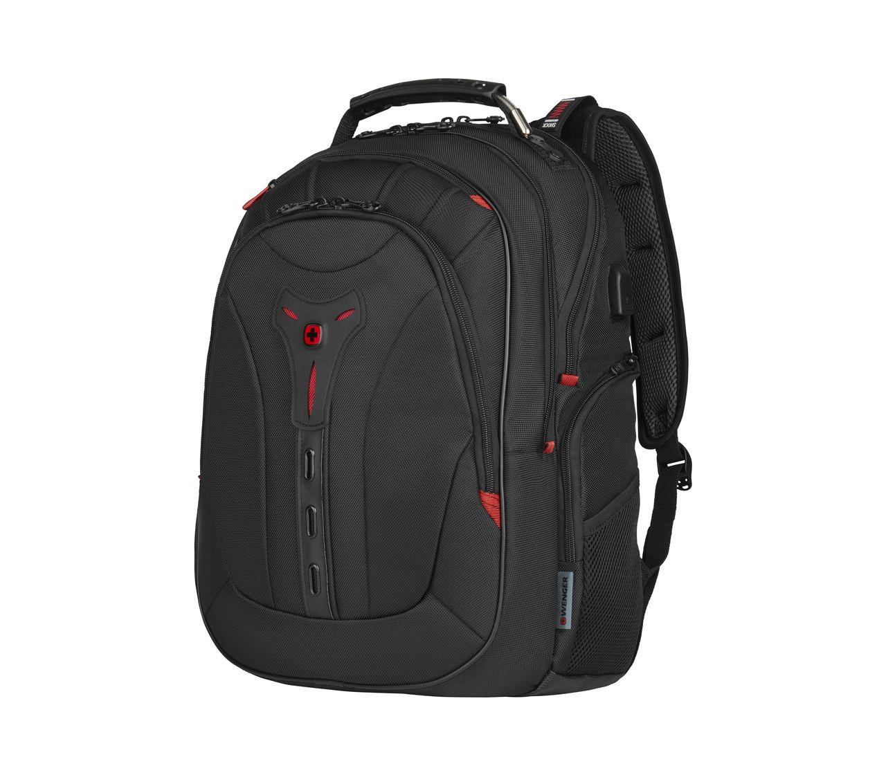 Wenger Pegasus Deluxe 16 Laptop Backpack In Black 606492