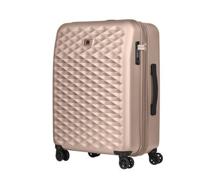 Lumen Metallic Expandable Hardside Luggage 24″ Upright