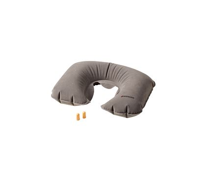 Inflatable Neck Pillow & Earplugs