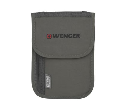 Travel Document Neck Pouch with RFID Protection