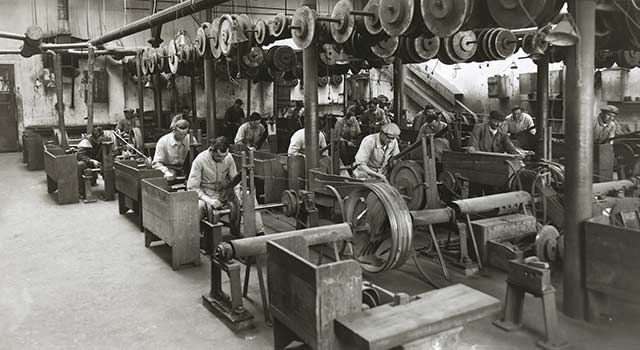 old Wenger polishing workshop